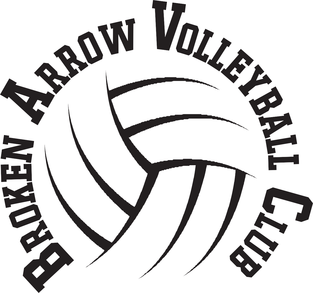 Broken Arrow Volleyball Club Logo