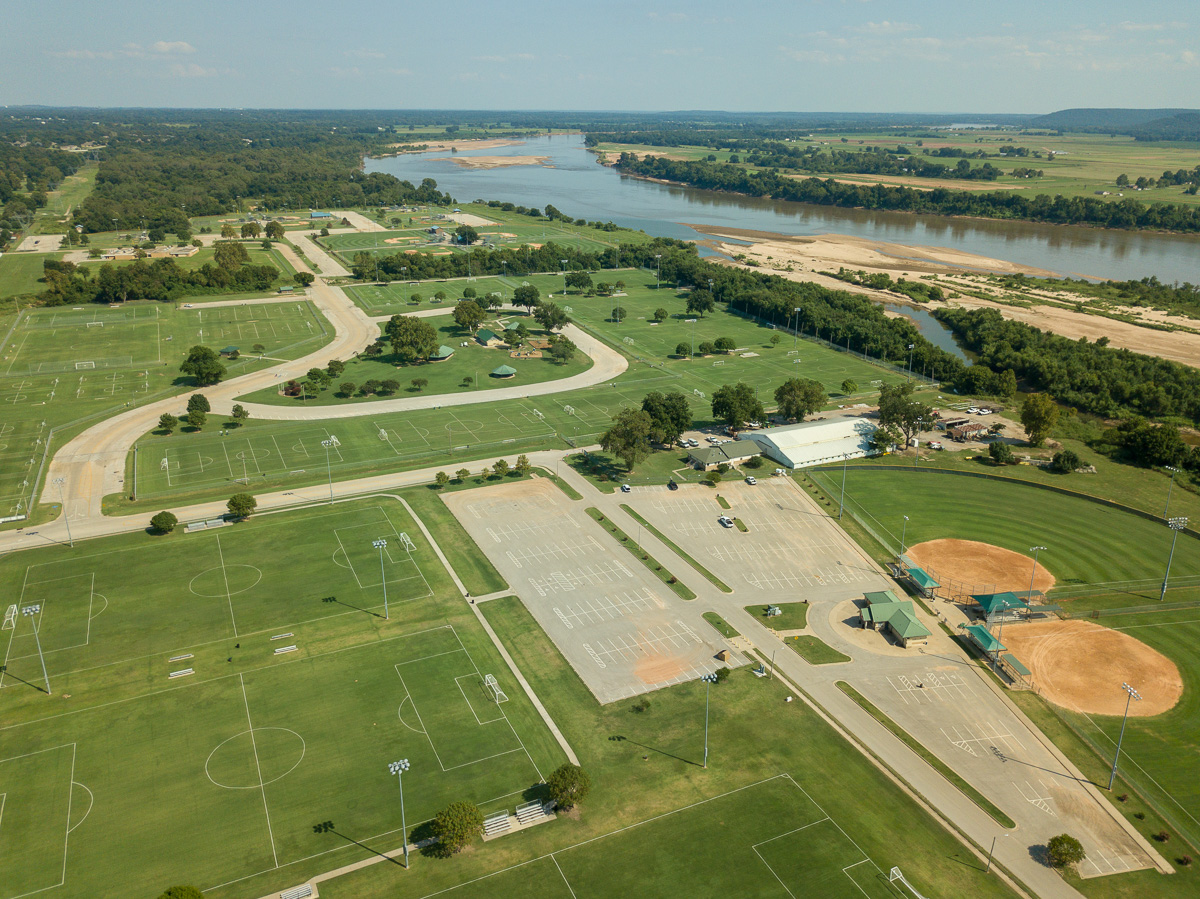 Indian Springs Sports Complex aerial image