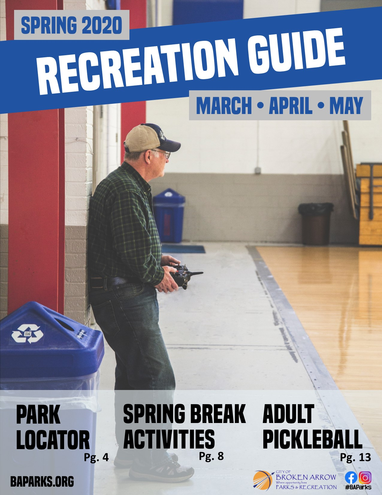 Spring Parks and Recreation Guide Front Cover