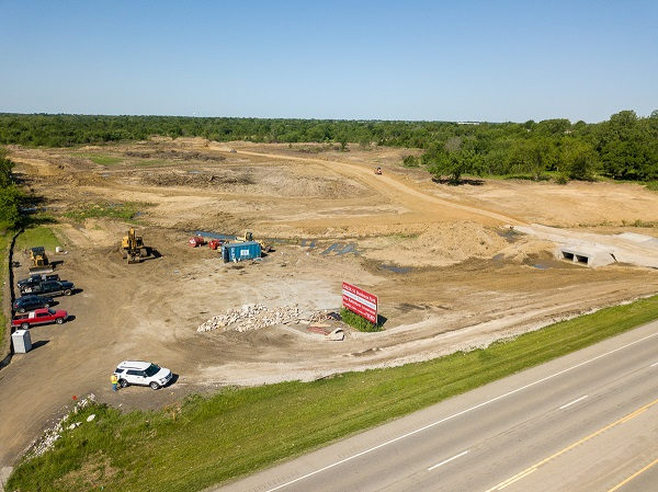 Work progresses on Creek 51