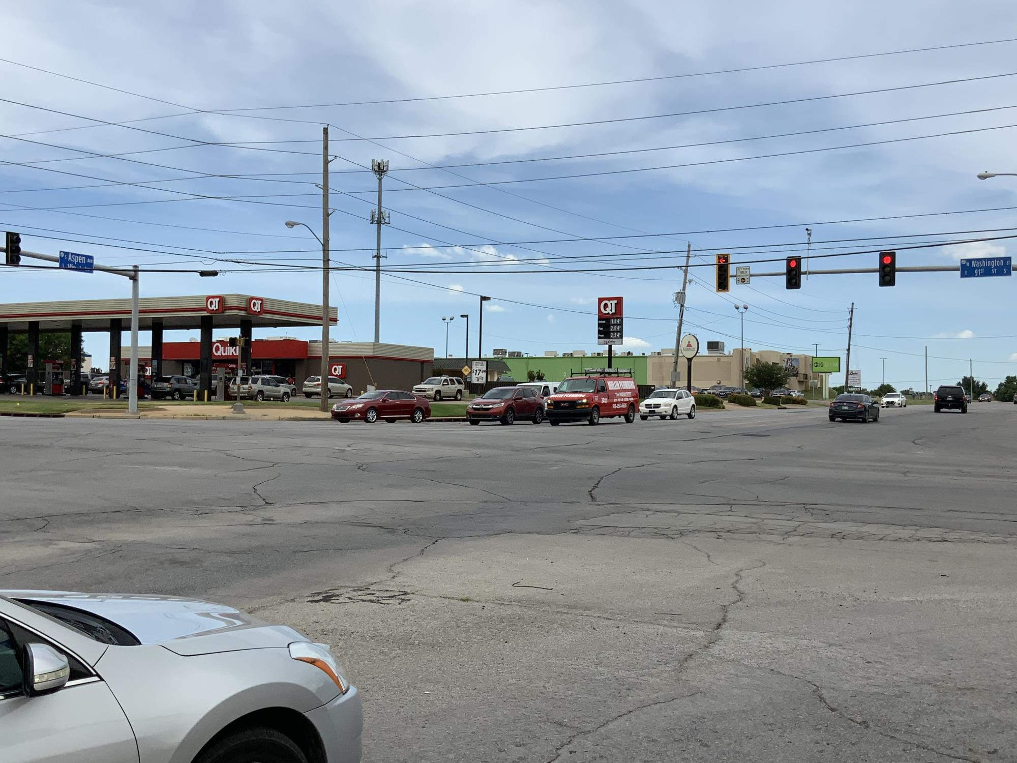 Contractors set to begin intersection work at Washington and Aspen